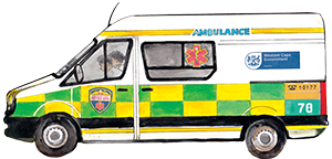 PACK Home - ambulance