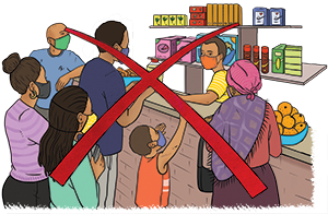 PACK Home - do not shop in crowded stores