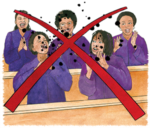 PACK Home - choir should not singing