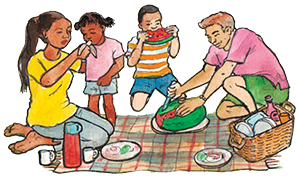 PACK Home - family picnic