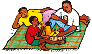 PACK Home - family picnic 2