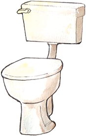 PACK Home - toilet